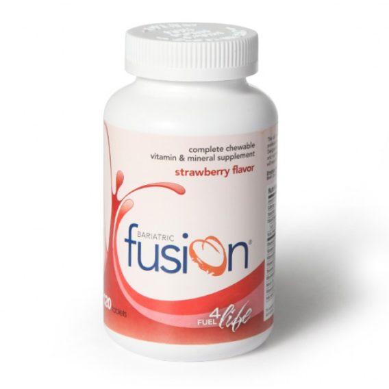 Bariatric Fusion Vitamin & Mineral Supplement | Strawberry Flavor 120 Tabs