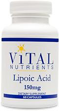 Alpha Lipoic Acid 150 mg 60 Caps
