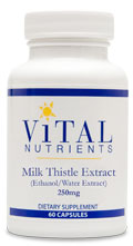 Milk Thistle Extract 250 mg 60 Caps