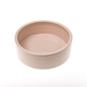 Stitch Bone Dog Bowl – Rose