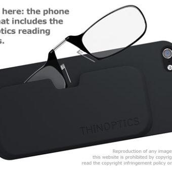 ThinOptics Black Frame & Case